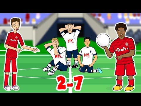 🤯Spurs 2-7 Bayern Munich🤯 Champions League 2019 Song Parody (Gnabry 4 goals!)