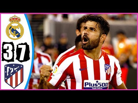 Real Madrid vs Atletico Madrid 3 – 7 – All Goals & Highlights Extended 2019