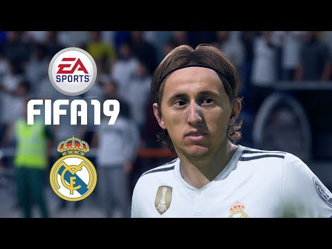 FIFA 19 – Real Madrid Player Faces