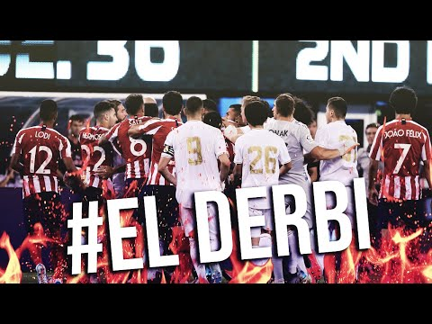 El Derbi – Real Madrid vs. Atletico Madrid (Best fights & Fouls )
