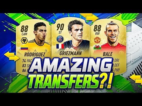 FIFA 20 NEW CONFIRMED TRANSFERS SUMMER 2019 & RUMOURS | w/ JAMES, BALE UTD & GRIEZMANN TO PSG🔥!