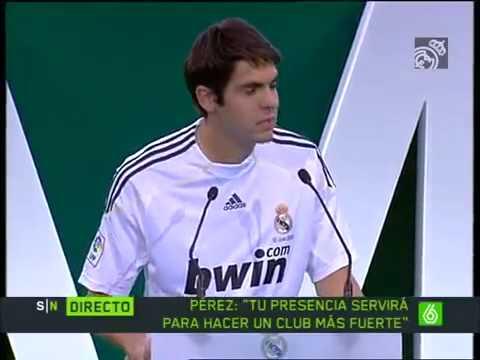 Kaka – Real Madrid Presentation ||HD||  –  {ESP} – [TheFootballStation]