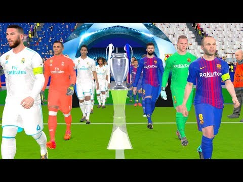 UEFA Champions League Final 2018 – Barcelona vs Real Madrid