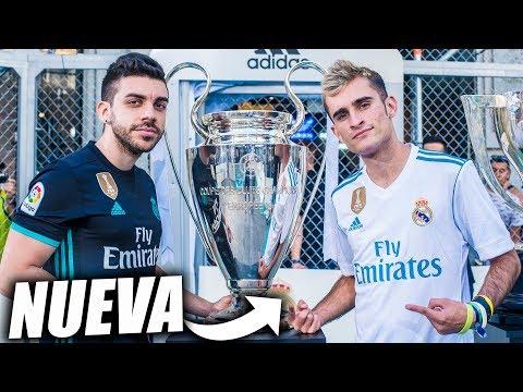 ASÍ es la NUEVA CAMISETA del REAL MADRID para 2017/2018 con ARKANO y DJMARIIO