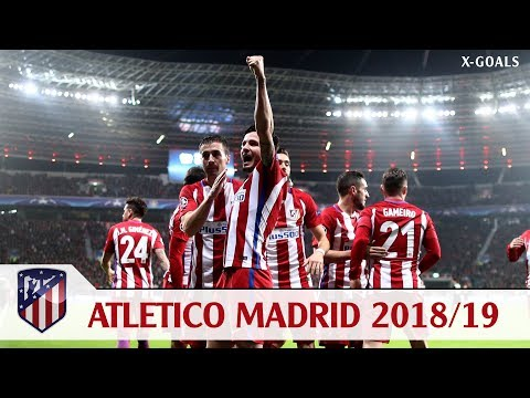 ⚽ ATLETICO MADRID SQUAD 2018/19 ALL PLAYERS – ATLETICO TEAM 2019