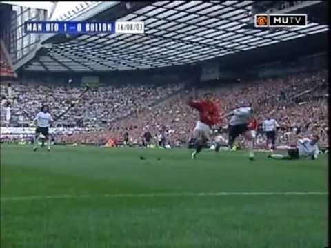 Manchester United Bolton |  Cristiano Ronaldo Debut August 16, 2003