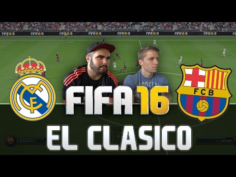 FIFA 16 REAL MADRID VS FC BARCELONA FULL GAMEPLAY [HD+ 60FPS PS4 / XBOX ONE]