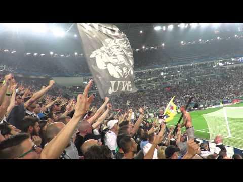 Juventus vs Real Madrid  2-1  05/05/2015 Curva Sud