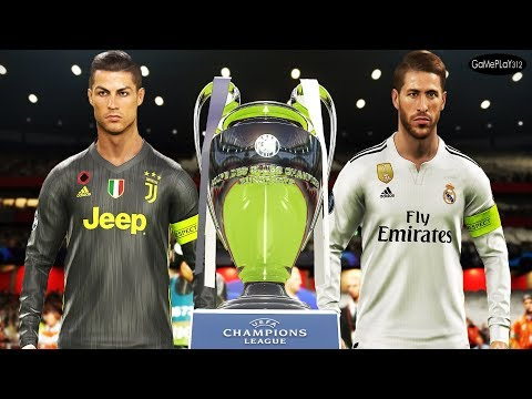 PES 2019 – Real Madrid vs Juventus – Final UEFA Champions League [UCL] – Ronaldo vs Real Madrid