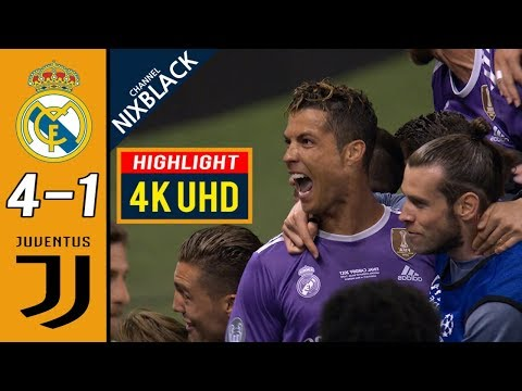 Real Madrid 4-1 Juventus 2017 CL Final All goals & Highlights 4K/UHD