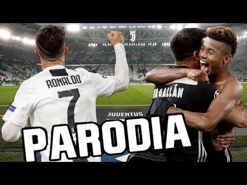 Canción Juventus vs Ajax 1-2 (Parodia Me Voy – Rombai) Resubido X4