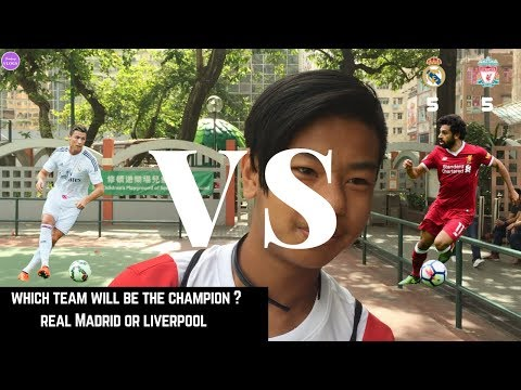 Real Madrid Vs Liverpool which Team will win the UEFA CHAMPIONS League 2018 ?| Social Experiment |