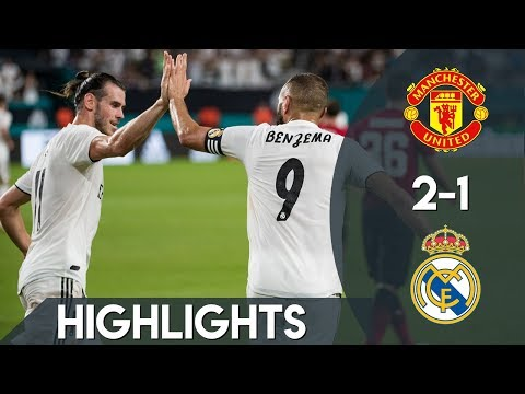 Manchester United vs Real Madrid – 2-1 Preview 01/08/2018 HD