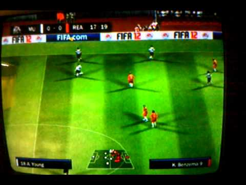 FIFA 12 (PS2( REAL MADRID VS MANCHESTER UNITED (PART 1)