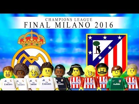 LEGO Champions League Final 2016 REAL MADRID – ATLÉTICO DE MADRID