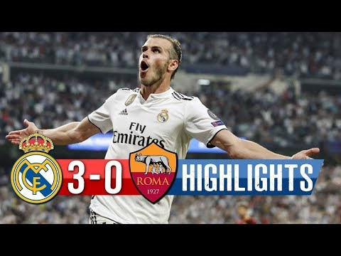 Real Madrid vs Roma (3-0) UEFA Champions League Highlights 19/09/2018 HD