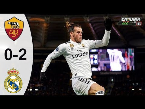 AS Roma vs Real Madrid 0-2 Champions League 27/11/2018