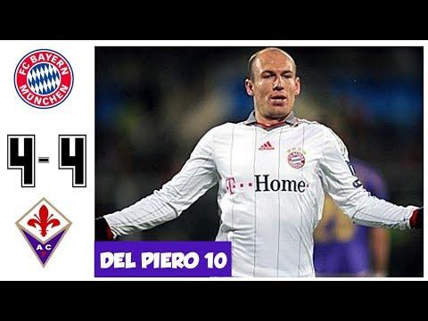 Bayern Munchen vs Fiorentina 4-4, Dramatic Match – UCL 2010