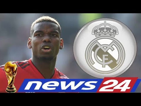 News24 –  Man Utd news: Paul Pogba REJECTED contract talks – Real Madrid eye midfielder
