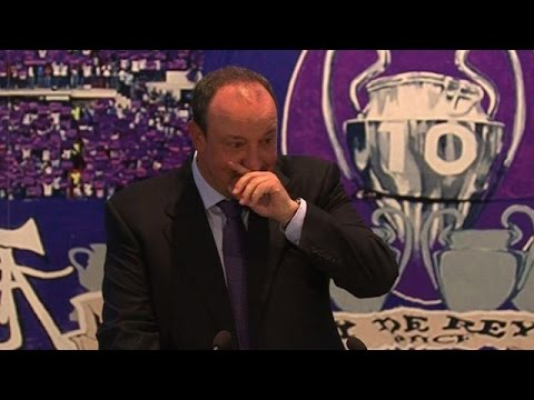 Emotional Benitez named Real Madrid coach