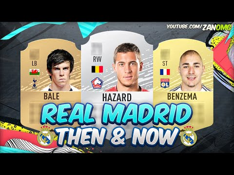 FIFA 20 | REAL MADRID FIRST AND PRESENT FUT CARDS! 😱 | FIFA 09 – FIFA 20
