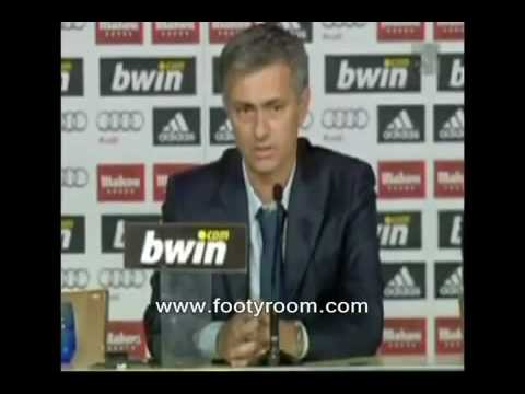 Jose Mourinho First Interview As A Real Madrid Manager