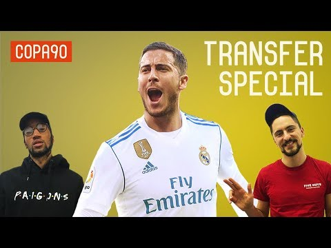 Real Madrid to Swap Eden Hazard for Bale? | Transfer Special with Poet and Vuj
