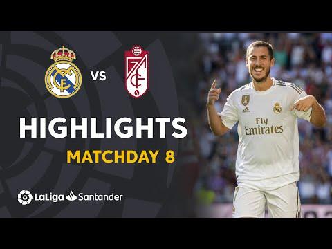 Highlights Real Madrid vs Granada CF (4-2)