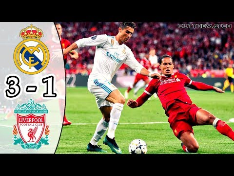 Real Madrid vs Liverpool 3-1 | All Goals & Highlights | UCL Final 2017/18