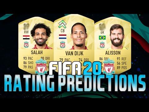 FIFA 20 LIVERPOOL RATINGS (ft. Van Dijk, Salah & Alisson!) | FIFA 20 Ultimate Team Predictions