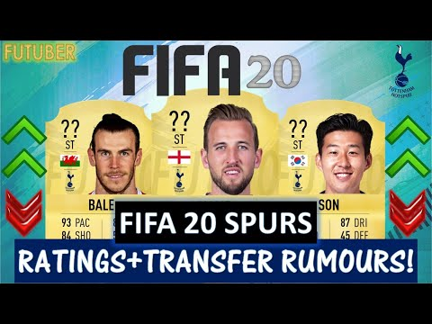 FIFA 20 | TOTTENHAM HOTSPUR PLAYER RATINGS!! FT. KANE, SON, BALE ETC… (TRANSFER RUMOURS INCLUDED)