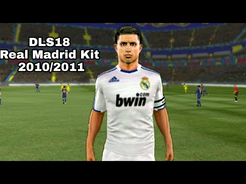 How To Import Real Madrid Kit Dream League Soccer 2018 #2