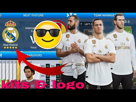 Dream League Soccer 2019 | How To Make Real Madrid New Kits & Logo 2019/2020