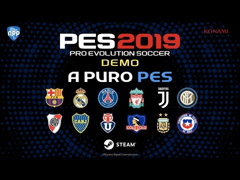 "PES 2019 | DEMO PATCH ( Real Madrid, PSG, Juventus …) ""download + install + fix"""