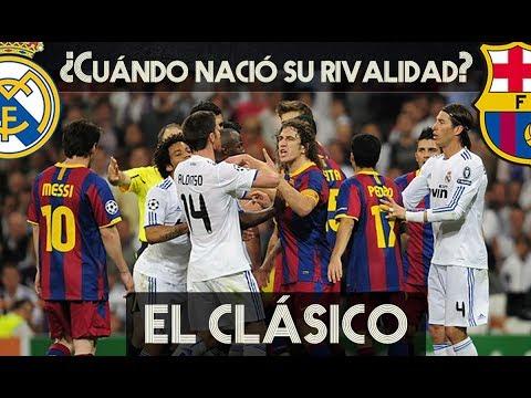 REAL MADRID vs BARCELONA: ASÍ NACIÓ LA RIVALIDAD DE #ElClasico