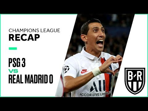 PSG 3-0 Real Madrid: Champions League Group A Recap with Goals and Best Moments