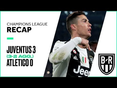 Juventus 3-0 Atletico Madrid (3-2 agg.): Champions League Recap with Goals and Best Moments