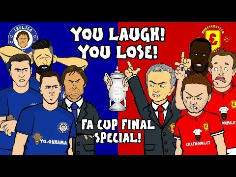 🤣CHELSEA vs MAN UTD – You Laugh, You Lose!🤣 (FA Cup Final 2018 Preview)