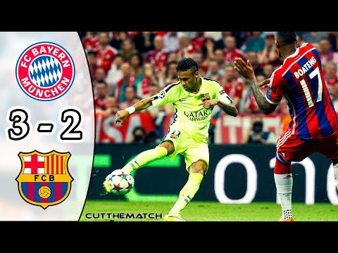 Bayern Munich vs Barcelona 3-2 | All Goals & Highlights | UCL Semi-final 2014/15