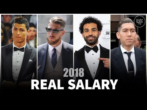 Real Madrid and Liverpool Players Real Salary 2018 | UEFA CHAMPIONS LEAGUE FINAL 2018