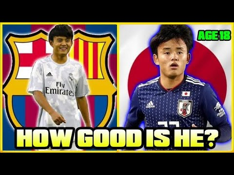How GOOD Is Real Madrid's 18 Year Old WONDERKID Takefusa Kubo ACTUALLY?