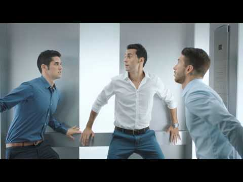 Nivea Men Stress Protect + Real Madrid players 30""