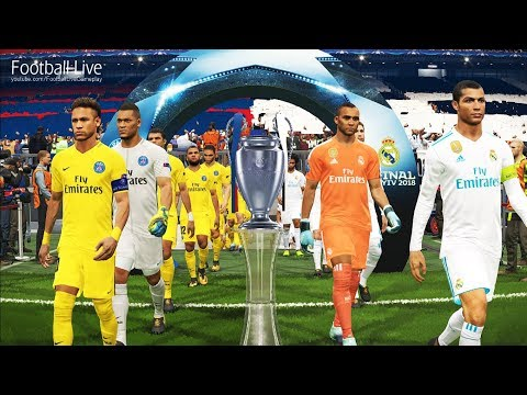 PES 2018 | Real Madrid vs PSG | Penalty Shootout | Final UEFA Champions League UCL