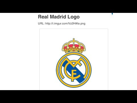 How to put Real Madrid logo for dream league soccer 2017 100% works