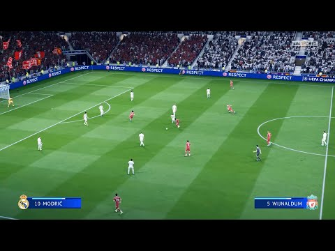 FIFA 20 – Amazing Realism LIVE Broadcast Camera | Real Madrid vs Liverpool | – PS4 Pro