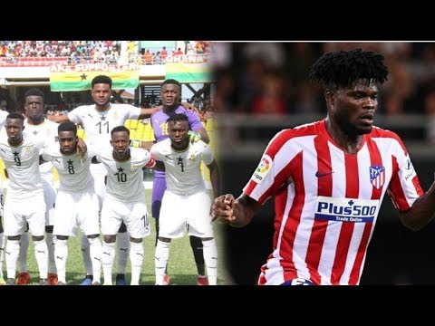 GHANA U23(METEORS)SQUAD NAMED FOR AFCON, REAL MADRID INTERESTED AGAIN IN PARTEY& GYAN FIRST GOAL