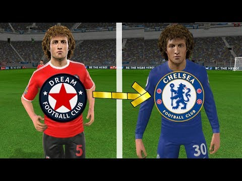 How To Create CHELSEA Team ★ Kits Logo & Players ★ Dream League Soccer 2019