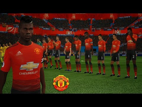 Create Man United 🔥 Kit Logo & Players 2018/19 🔥 Dream League Soccer 2018