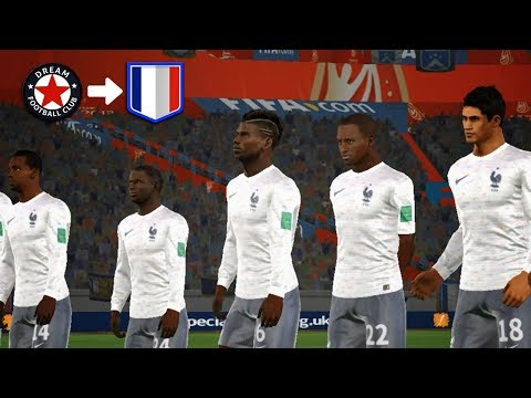 Create France Team 🔥 Kit Logo & Players 🔥 Dream League Soccer 2018
