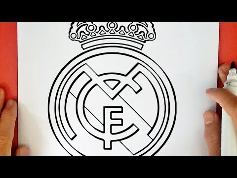 COMMENT DESSINER LE LOGO DU REAL MADRID